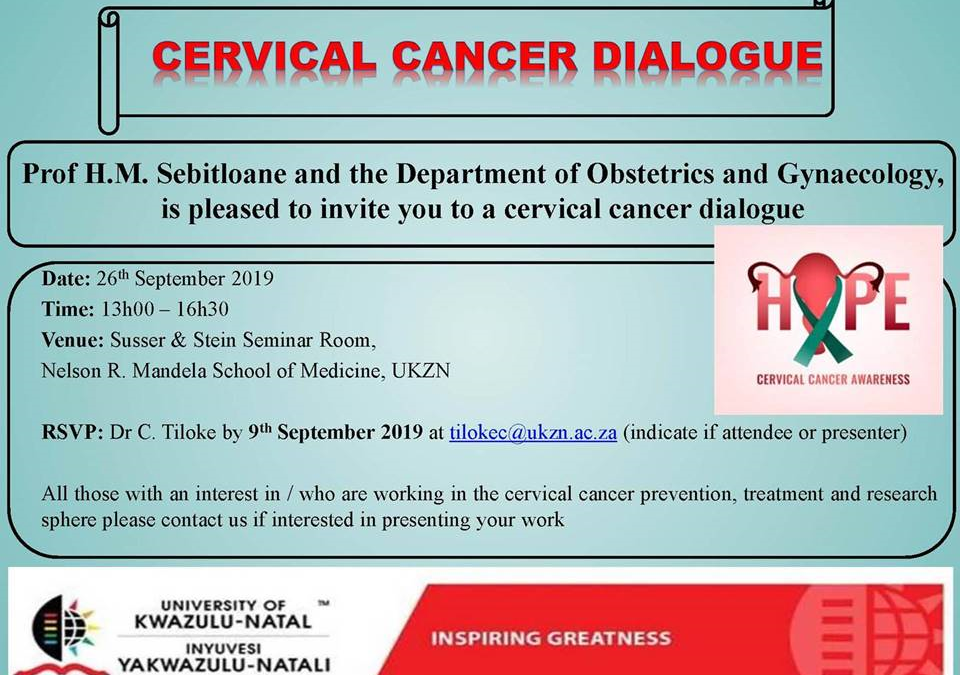 Joining hands to prevent cervical cancer